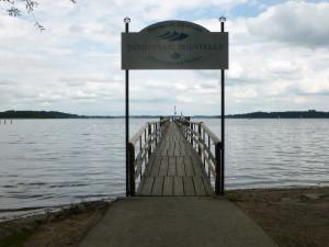 Lago Chiemsee in Baviera