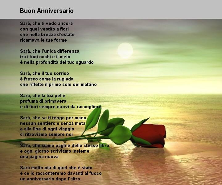 amore anniversario matrimonio
