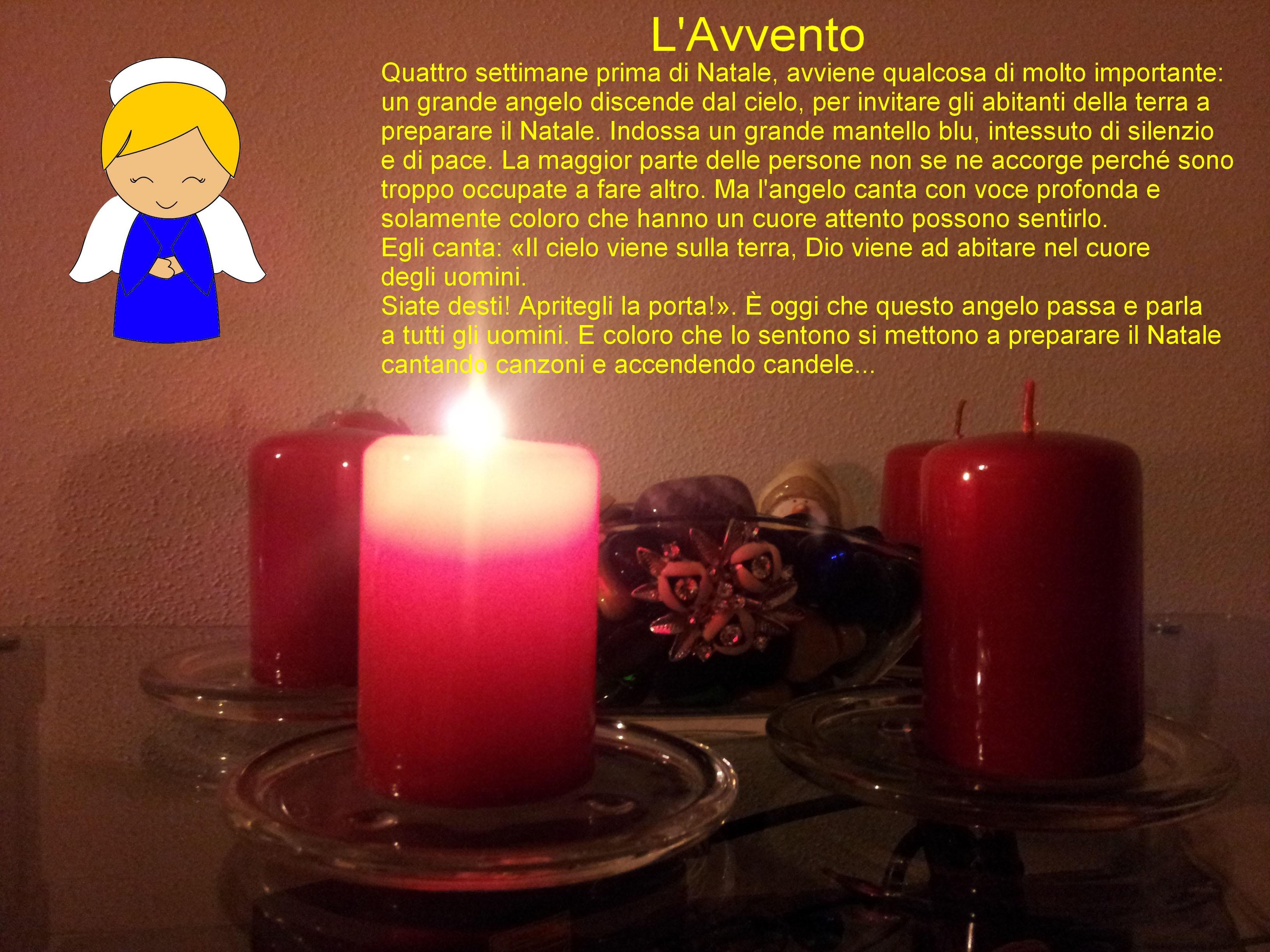 Candele Dell Avvento.Attualita Gianfranco Marangoni