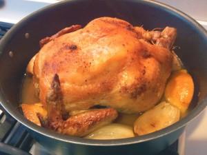 pollo in tegame
