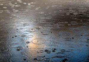 gocce di pioggia